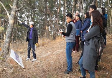 경주 양동마을 방문해 웰니스문화관광해설 실습